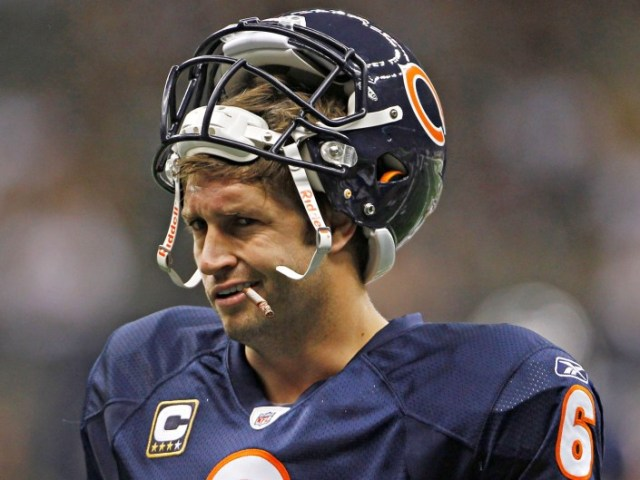 Smoking Jay Cutler