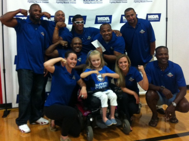 MDA Madison Muscle Event - Packers Players