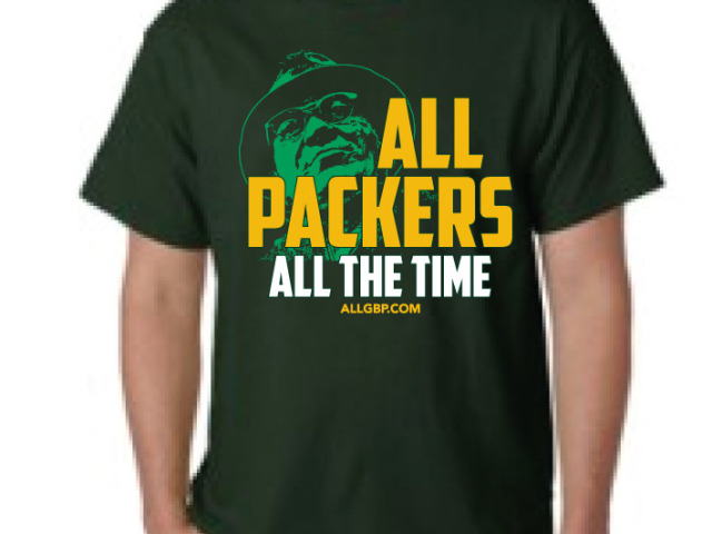ALLGBP.COM T-Shirt: All PACKERS ALL THE TIME