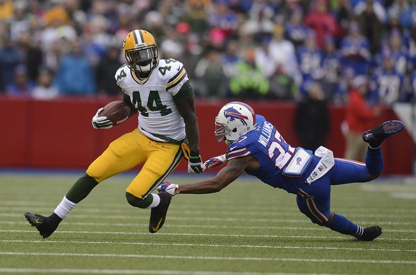 Packers James Starks vs. Bills