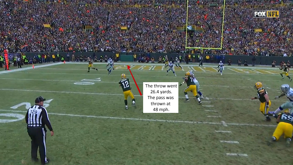 Aaron Rodgers Throw