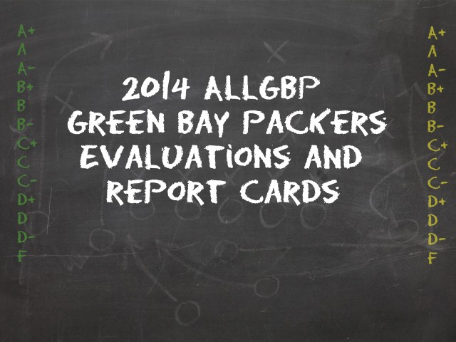 Green Bay Packers Report Cards, Player Grades