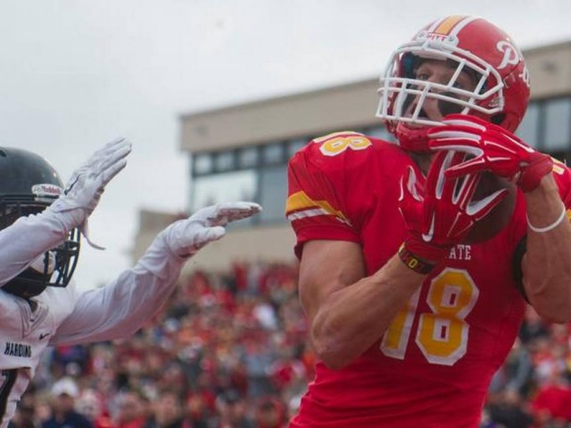 NFL Jerseys Nike - NFL Draft Prospect Profile: Gavin Lutman, WR Pittsburg State ...